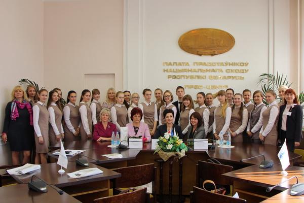 Встреча со студентами Минского городского педагогического колледжа