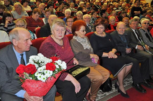 На праздничном мероприятии в Клубе ветеранов Минского автомобильного завода, 06 марта 2019 годае