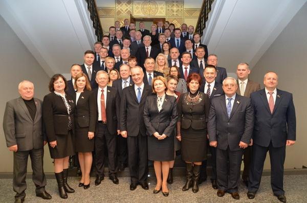 На семинаре для руководителей групп Национального собрания Республики Беларусь по сотрудничеству с парламентами зарубежных государств, октябрь 2017 года