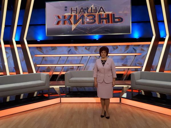 """Участие в ток-шоу """"Наша жизнь"""" на телеканале ОНТ, октябрь 2017 года"""