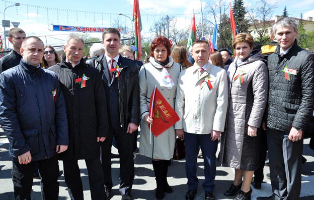 Празднование 72-летия Великой Победы