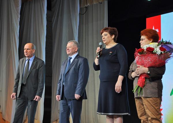 Поздравление ветеранов Минского автомобильного завода с Днем женщин, 06 марта 2019 года